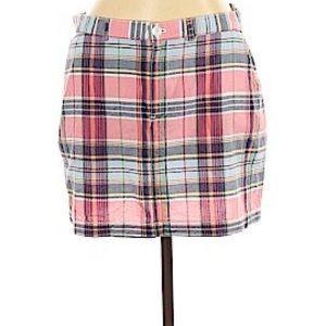 Ralph Lauren Sport   Pink Plaid Mini Skirt   14